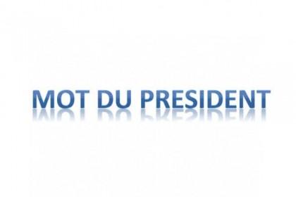 Lettre du président de Jura Sud Judo